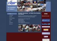 Website von Getränke Heimdienst Sauter und Dogan GbR