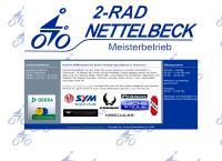 Website von Zweirad Nettelbeck