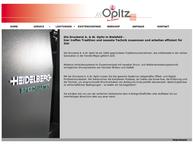 Website von Druckerei A. W. Opitz GmbH