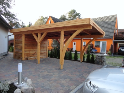 holztechnik bernickel carport holzbau in friedrichswalde. Black Bedroom Furniture Sets. Home Design Ideas
