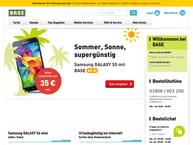 Website von Base Shop Bocholt