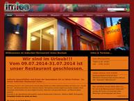 Website von Indisches Restaurant Imlee