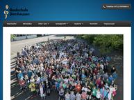 Website von Realschule Bernhausen