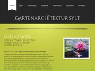 Website von Gartenarchitektur Sylt