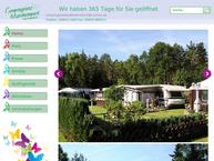 Website von Campingplatz Bad Boden-Teich GmbH