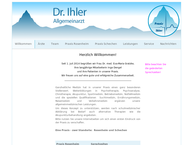 Website von Waltraud Ihler-Heitl Fachärztin Für Allgemeinmedizin