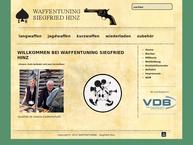 Website von Waffentuning Siegfried Hinz