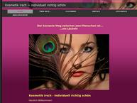 Website von Kosmetik Irsch-Individuell Richtig Schön
