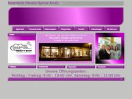 Website von Krull Sylvia Kosmetikstudio Fußpflege Alte