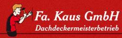 Kaus Dachdeckermeisterbetrieb