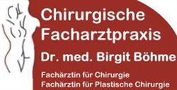 Dr. med. Birgit Böhme Fachärztin für Chirurgie und Plastische Chirurgie