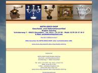 Antik Deko Shop, Kunstgewerbe, Geschenkartikel Einzelhandel in ...