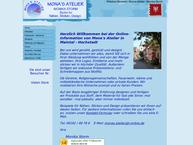Website von Mona's Atelier