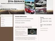Website von DTK-Service