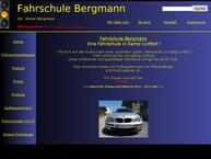 Website von Fahrschule Bergmann, Inh. Rainer Bergmann