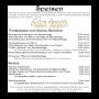 Gasthaus Pension Thüringer Hof - Speisekarte