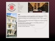 Website von HOTEL Burgund