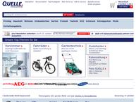 Website von QUELLE GmbH