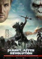 Planet der Affen - Revolution 3D poster